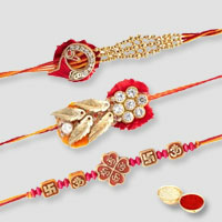 Captivating Rakhi Set