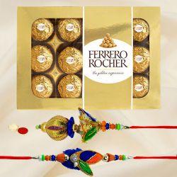 Bhaiya Bhabhi Rakhi with Ferrero Rocher