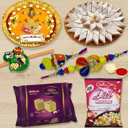 Remarkable Rakhi Gifts Combo