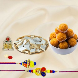 Wonderful Bhaiya Bhabhi Set Rakhi N Assortments