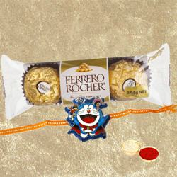 Ferrero Rocher with Kids Rakhi