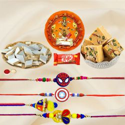 Assorted Rakhi Gifts Hamper for Family