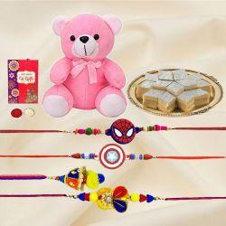 Delightful Rakhi Celebration Gift Assortment
