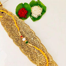 Delightful Gift of 1 stylish Rakhi