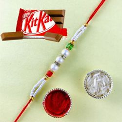 Fantastic Rakhi with Kitkat Chocolates