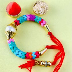 Coolourful Bracelet Rakhi