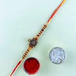 Amazing Om Rakhi for Brother