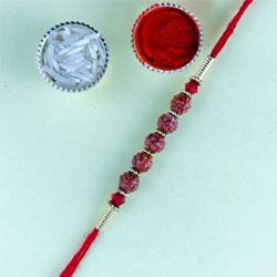 Premium Rudraksh Rakhi for Brother