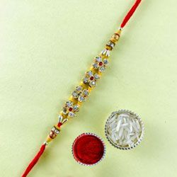 Decorative Jewelled Rakhi