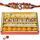 Outstanding Display of Fancy Rakhi and Mixed Sweets along with free Roli Tikka on the occasion of Raksha Bandhan