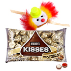 One Kids Rakhi and 1 Ethnic Rakhi with Hersheys Kisses ( 75 Gms.)