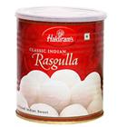 1 Kg. Haldirams Rasgulla Pack<br /><font color=#0000FF>Free Delivery in USA</font>