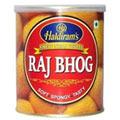 1 Kg. Haldirams Rajbhog Pack<br /><font color=#0000FF>Free Delivery in USA</font>