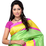 Fascinating Bhagalpuri Khadi Printed Silk Saree with Fantastic Gesture