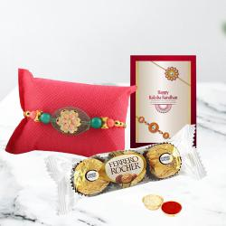 Fabulous Rakhi N Ferrero Rocher Pack