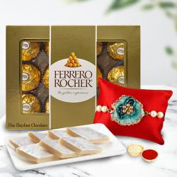 Delectable Sweets Treat with Rakhi