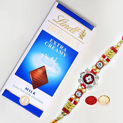 Spiritual Rakhi with Lindt