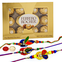 Rakhis & Ferrero 12pc