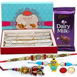 Jerry Rakhi Set with Kaju Katli & cadbury