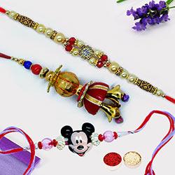 Mickey & Spiritual Rakhi