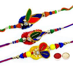 3 String Rakhis