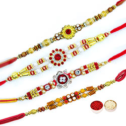 Multi-colored Rakhis