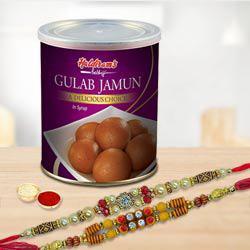 2 Rakhi & Gulabjamun