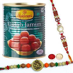 Ganesha Rakhi & Gulabjamun