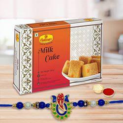 Rakhi & Milk Cake
