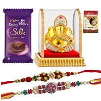 Pious Ganesh Rakhi Gift